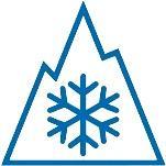 Enneigement sur les Alpes et les Pyrénées à la mi-janvier