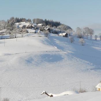 Saint Franc sous la neige